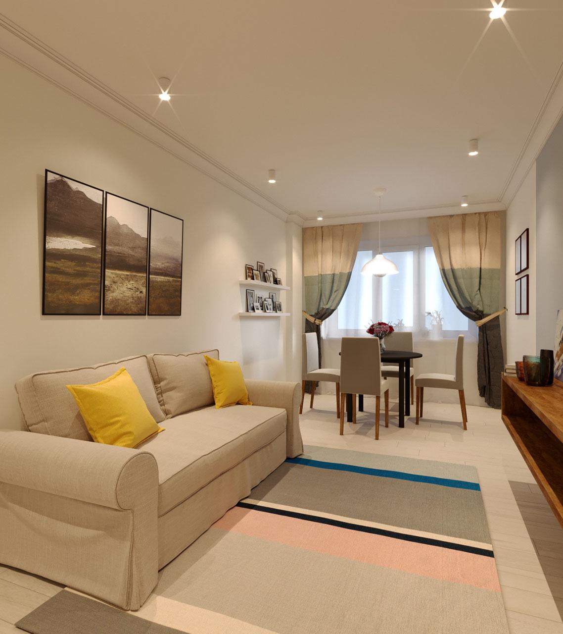 Дизайн для стандартных квартир